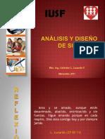 analisisydiseodesistemasiusf-110227190853-phpapp02