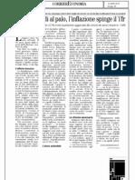 2012.01.23 Corriere Economia FONDI TFR Rendimenti