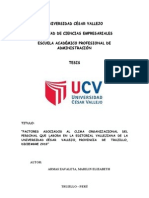 53227681 Tesis Clima Organizacional Marilin Armas Zavaleta