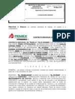 Practica 3 Contrato de Trabajo Pemex