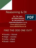 20 June DI & Reasoning