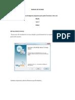 Mysql Manual (Autoguardado)