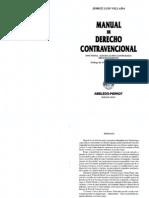 Jose Luis Villada Manual de Derecho Contravencional
