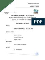 Informe Final Transferencia de Calor