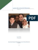 1. L'analyse genre du secteur de l'éducation. Rapport. Larbi Wafi. Consultant. Improving Training for Quality Advancement in National Education. Mai 2010 ...