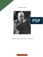 Croce Benedetto - Manifesto Degli Intellettuali Antifascisti