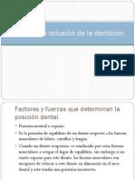 Alineacin y Oclusin de La Denticin