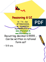6 June Reasoning & DI III
