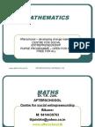 7 July Mathematics