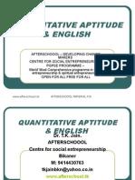 30 Quantitative Aptitude