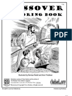 Chabad Lubavitch Passover Coloring Book  (Chabad.org)