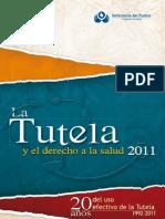 La Tutela y El Derecho a La Salud 2011 Defensoria