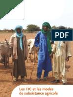 Les TIC Et Les Modes de Subsistance Agricole 2006