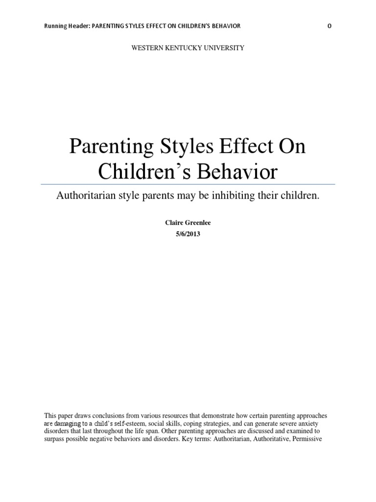 argumentative essay on co parenting Does parenting have a the effect of parenting styles on child development if you are the original writer of this essay and no longer wish to have.