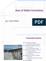 Fatigue of Bolted Connections