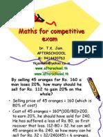 maths 20 May 2