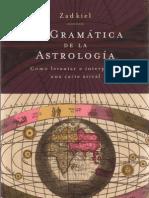 Zadkiel-La Gramatica de La Astrologia