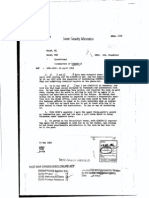 Declassified CIA File - Termination of Kibitz-15 net