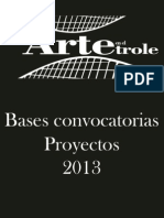 Convocatoria Aet-proyectos 2013