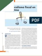 El Federalismo Fiscal en Argentina