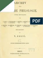 Archiv für slavische Philologie 32