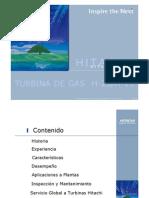 m.t. Turbina Gas Hitachi