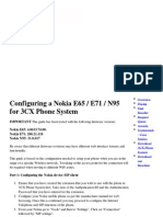 Configuring a Nokia E65 ...95 for 3CX Phone System.pdf