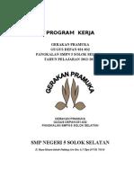 Program Kerja Gerakan Pramuka 031 032