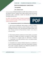 Procedimientos de Organizacion y Constitucion