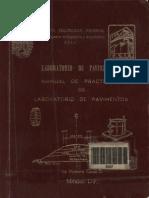 Manual de Practicas de Laboratorio de Pavimentos