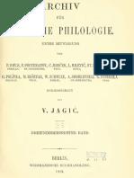 Archiv für slavische Philologie 33