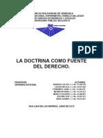 La Doctrina (Introduccion Al Derecho)