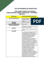 Publicaciones Ingenieria Produccion