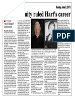 Judge Royal Hart - San Angelo Standard Times Feature Story