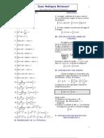 Formulario de integrales