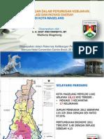 [Walikota Magelang] Peran Kelitbangan Dalam Perumusan Kebijakan, Regulasi, Dan Inovasi Daerah Di Kota Magelang