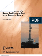 Life Cycle Assessment of CCPP (Natural Gas)