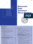 Minnesota State Substance Abuse Strategy