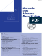 Minnesota State Substance Abuse Strategy