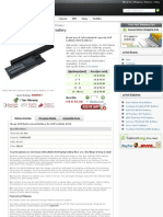 Dell Latitude d620 Laptop Battery