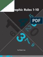 Typographic Rules 1-10