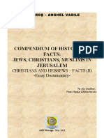 Hebrew, Christians, Muslims in Jerusalem - Compendium of Historical Facts