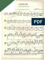 Odeon - Ernesto Nazareth - Violão Solo