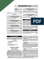 Ley Del Ambiente - 28611
