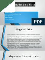 Magnitudes de la física