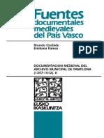 Documentación medieval del Archivo Municipal de Pamplona (1357-1512). II