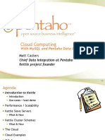 Cloud Computing with MySQL and Kettle