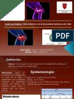 Presentacion de Meniscopatia y Artrosis