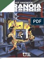 Paranoia 1st Edition - Player Handbook
