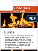 BURN INJURIES & TREATMENT.pptx